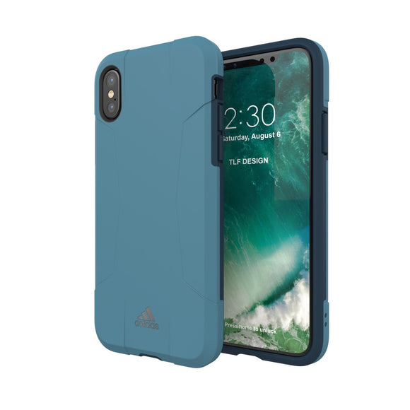 adidas(アディダス) Performance iPhoneX 背面型 ケース SP-Solo Core Blue