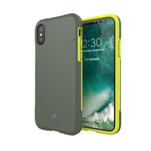 adidas(アディダス) Performance iPhoneX 背面型 ケース SP-Solo Solar Yellow