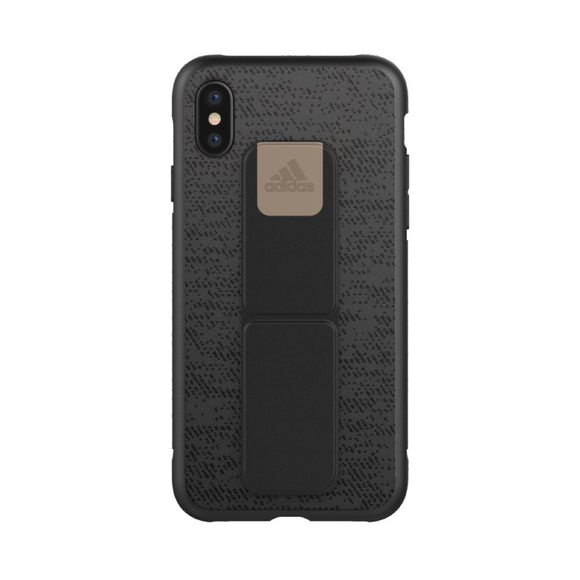 adidas(アディダス) Performance iPhoneX 背面型 ケース SP-Grip Black/Gold Metallic