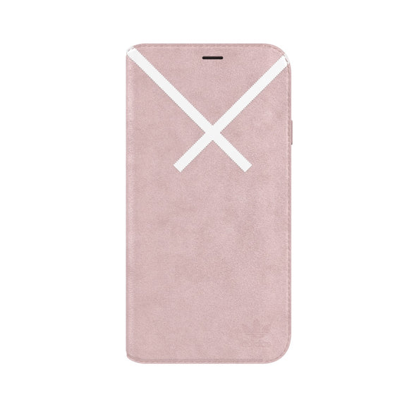 adidas(アディダス) Originals iPhoneX 背面型 ケース OR-XBYO-Booklet Blanch Purple