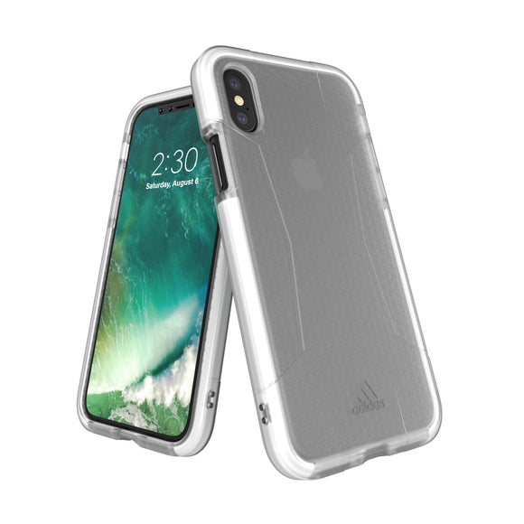 adidas(アディダス) Performance iPhoneX 背面型 ケース SP-Agravic White