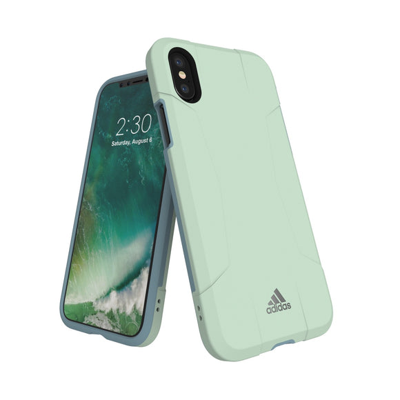 adidas(アディダス) Performance iPhoneX 背面型 ケース SP-Solo Aero Green