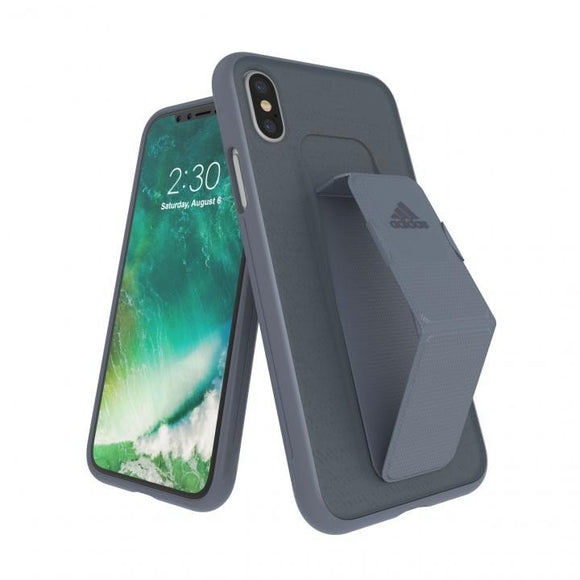 adidas(アディダス) Performance iPhoneX 背面型 ケース SP-Grip Raw Steel