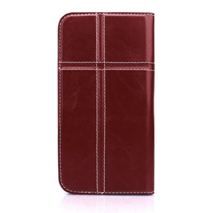 Android用 手帳型ケース Fantastick Free Size Case Cross (Burgundy) 全機種
