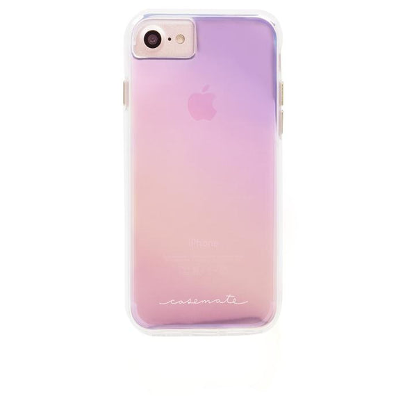 iPhone8/7 兼用ハードケース Case-Mate Hybrid Tough Naked Case Iridescent
