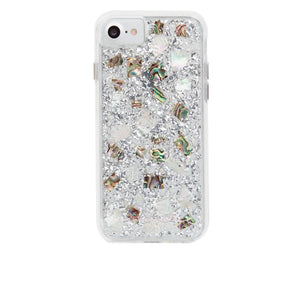 iPhone8/7 兼用ハードケース Case-Mate Karat Case Mother of pearl