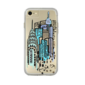 iPhone8/7/6s/6 兼用ハードケース Case-Mate NEW YORK CITY PRINTS Case
