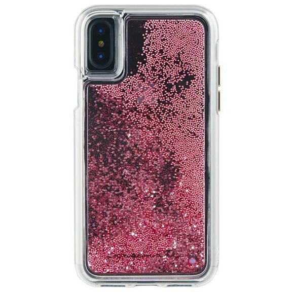 iPhoneXS/X ハードケース Case-Mate Waterfall Case-Rose Gold