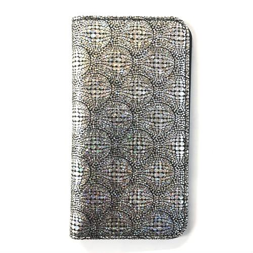 Multi Phone Case BookType【WaterDrop】MirrorSilver
