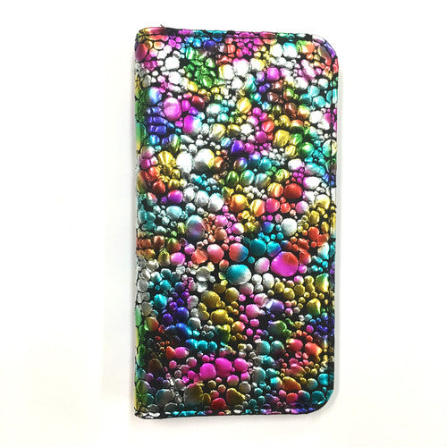 Multi Phone Case BookType【WaterDrop】Multi×Black