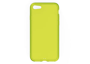 iPhone8 iPhone7 アイフォン8 アイフォン7 おしゃれ AndMesh Plain Case iPhone 7 Clear Lime Yellow