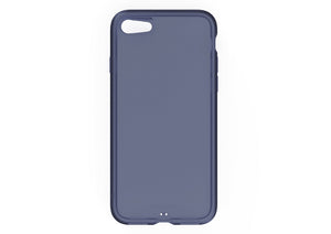 iPhone8 iPhone7 アイフォン8 アイフォン7 おしゃれ AndMesh Plain Case iPhone 7 Clear Navy