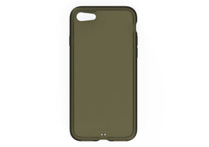 iPhone8 iPhone7 アイフォン8 アイフォン7 おしゃれ AndMesh Plain Case iPhone 7 Clear Olive