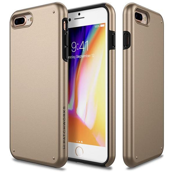 iPhone8Plus iPhone7Plus アイフォン 耐衝撃 Chroma Case Gold