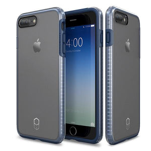 iPhone8Plus iPhone7Plus Level Case Navy Clear