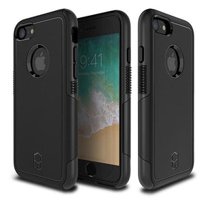 iPhone8 iPhone7 アイフォン 耐衝撃 Level Aegis Case Black