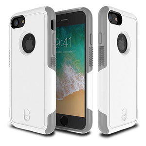iPhone8 iPhone7 アイフォン 耐衝撃 Level Aegis Case White