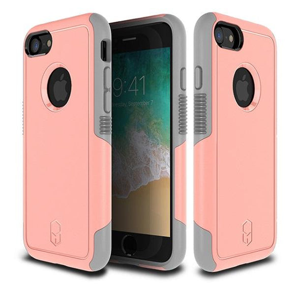 iPhone8 iPhone7 アイフォン 耐衝撃 Level Aegis Case Pink