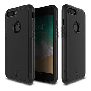iPhone8Plus iPhone7Plus アイフォン 耐衝撃 Level Aegis Case Black