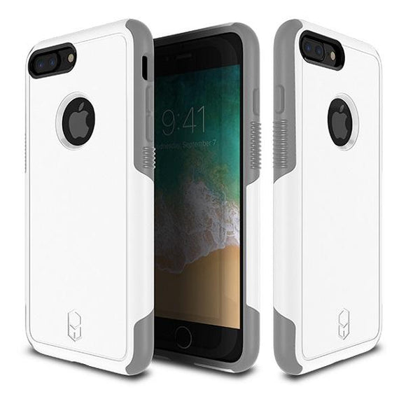 iPhone8Plus iPhone7Plus アイフォン 耐衝撃 Level Aegis Case White