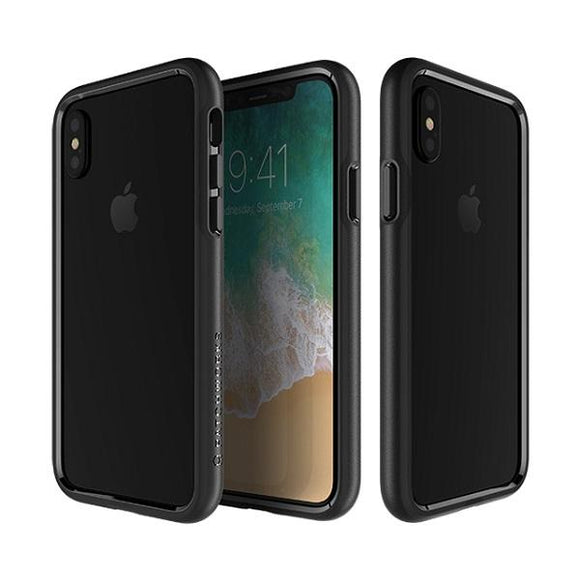 iPhoneXS/X バンパー Level Silhouette Case Black