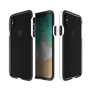 iPhoneXS/X バンパー Level Silhouette Case White