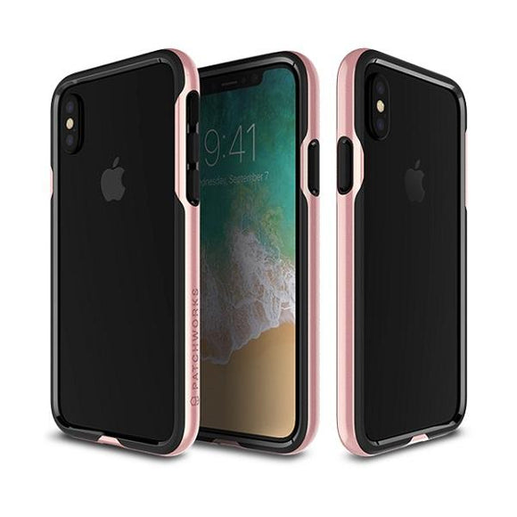 iPhoneXS/X バンパー Level Silhouette Case Pink