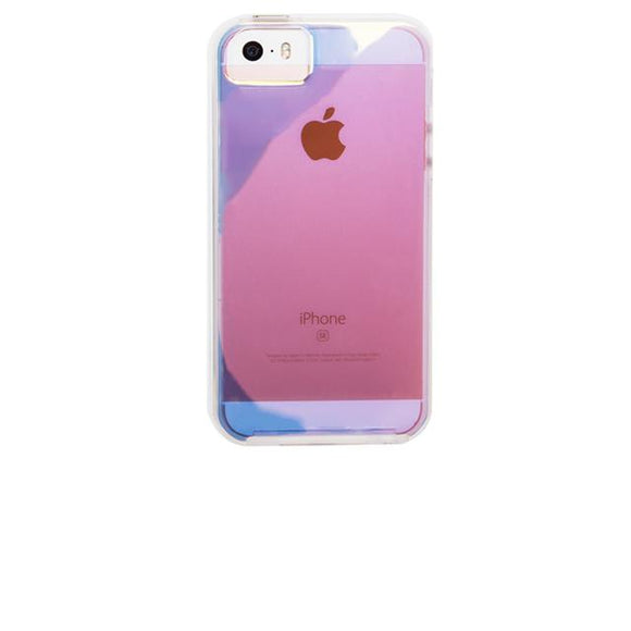 iPhoneSE/5s/5 ハードケ-ス Case-Mate Naked Tough Case Iridescent