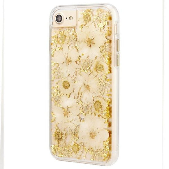 iPhone8 iPhone7 iPhone6 iPhone6s アイフォン ケース Case-Mate iPhone8 Karat Petals Case-White