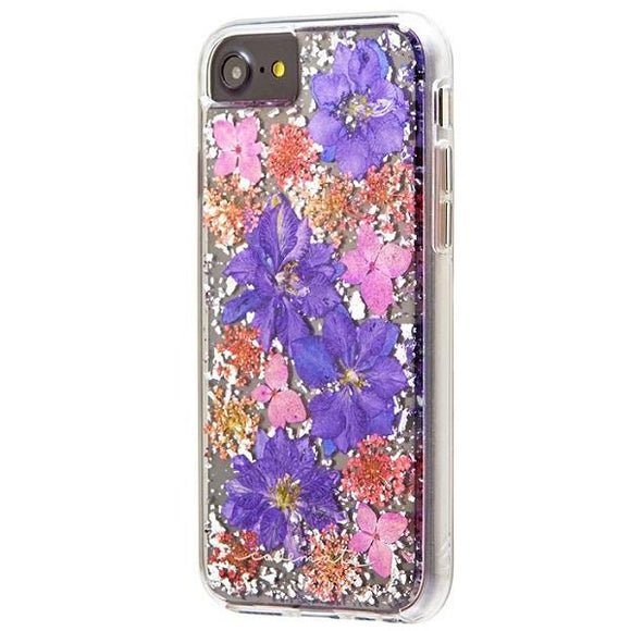 iPhone8 iPhone7 iPhone6 iPhone6s アイフォン ケース Case-Mate iPhone8 Karat Petals Case-Purple