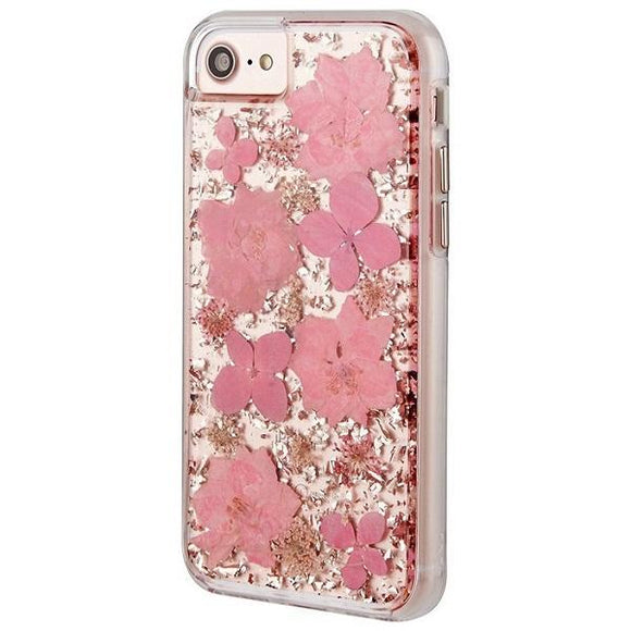 iPhone8 iPhone7 iPhone6 iPhone6s アイフォン ケース Case-Mate iPhone8 Karat Petals Case-Pink