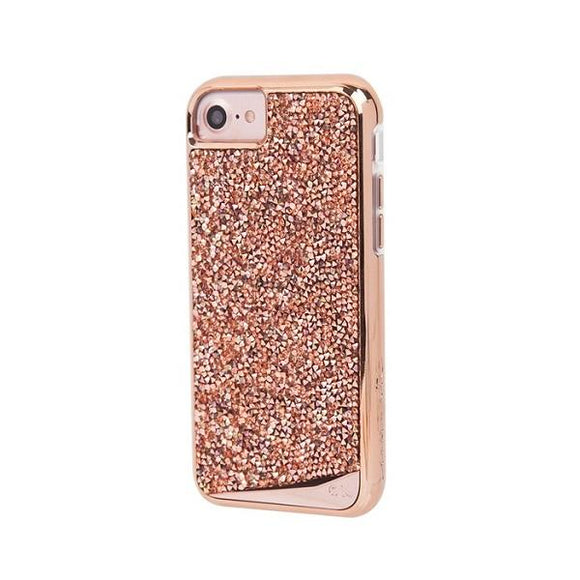 Case-Mate iPhone8 Brilliance Case-Rose Gold アイフォン ケース