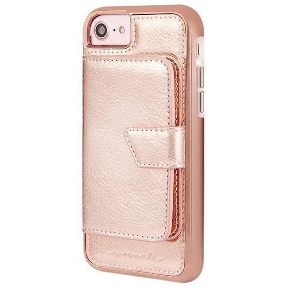 iPhone8 iPhone7 iPhone6 iPhone6s アイフォン ケース    'Case-Mate iPhone8 Comapct Mirror Case-Rose Gold