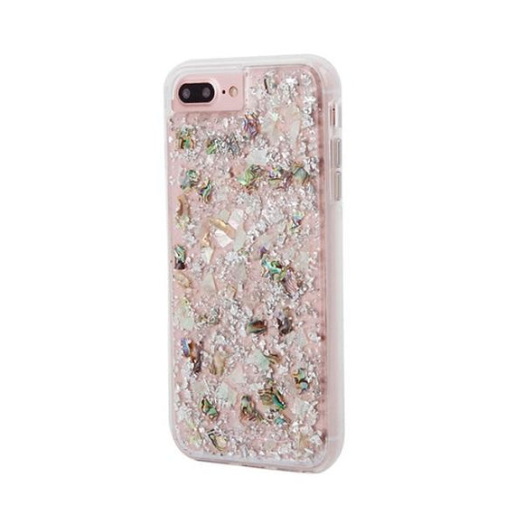 iPhone8Plus iPhone7Plus iPhone6Plus iPhone6sPlus アイフォン ケース Case-Mate iP8Plus Karat Case-Mother of Pearl
