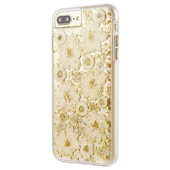 iPhone8Plus iPhone7Plus iPhone6Plus iPhone6sPlus アイフォン ケース Case-Mate iP8Plus Karat Petals Case-White