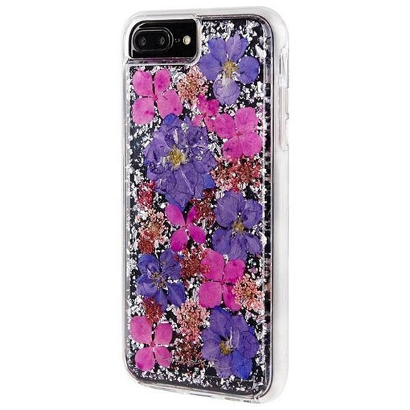 iPhone8Plus iPhone7Plus iPhone6Plus iPhone6sPlus アイフォン ケース Case-Mate iP8Plus Karat Petals Case-Purple