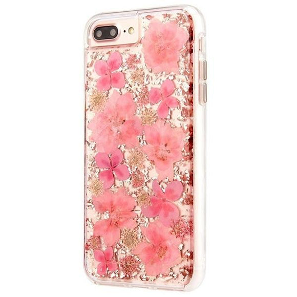 iPhone8Plus iPhone7Plus iPhone6Plus iPhone6sPlus アイフォン ケース Case-Mate iP8Plus Karat Petals Case-Pink