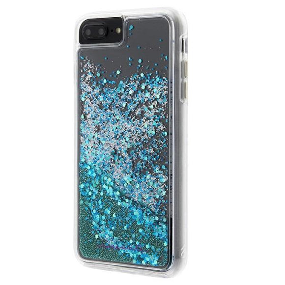 iPhone8Plus iPhone7Plus iPhone6Plus iPhone6sPlus アイフォン ケース Case-Mate iP8Plus Waterfall Case-Teal