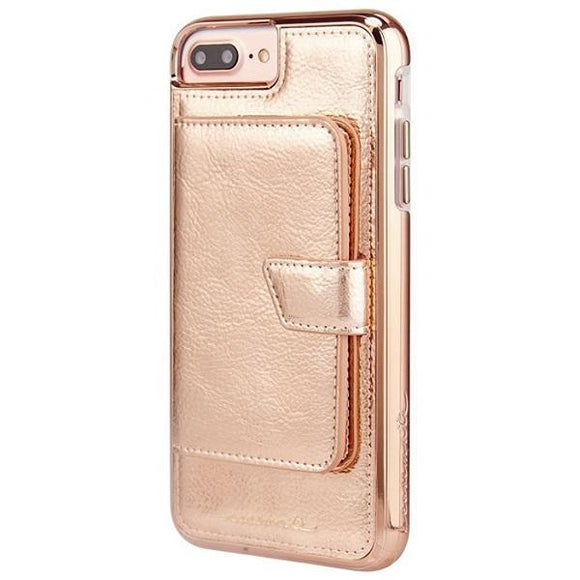 iPhone8Plus iPhone7Plus iPhone6Plus iPhone6sPlus アイフォン ケース Case-Mate iP8Plus Comapct Mirror Case-Rose Gold