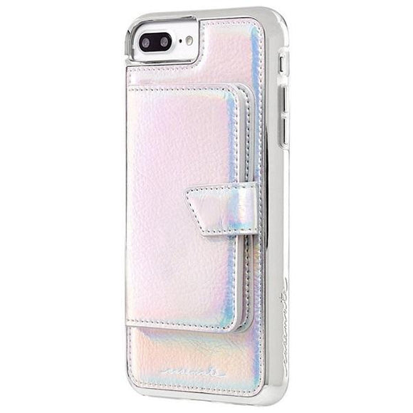 iPhone8Plus iPhone7Plus iPhone6Plus iPhone6sPlus アイフォン ケース Case-Mate iP8Plus Comapct Mirror Case-Iridescent