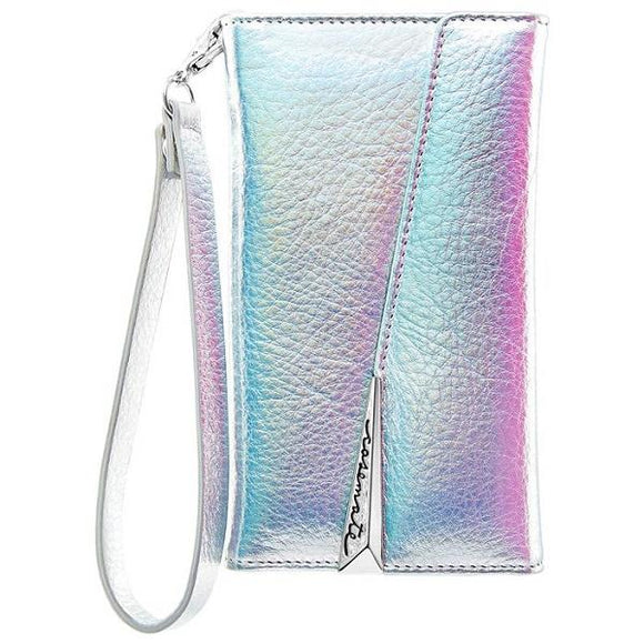 iPhoneXS/X ケース Case-Mate iPhoneXS/X Leather Wrsitlet Folio Iridescent