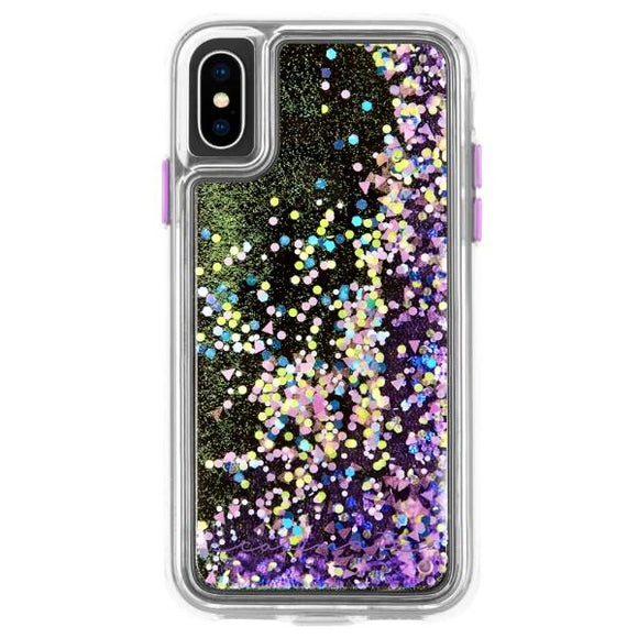 iPhoneXS アイフォンXS Waterfall - Glow Purple Case-Mate ケースメート