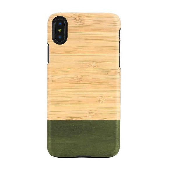 iPhoneXS/X ケース 天然木ケース Bamboo Forest