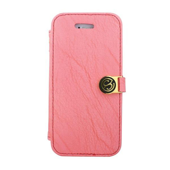 iPhone7 アイフォン 手帳型ケース Fantastick Diary Stitch Case Pink for iPhone7