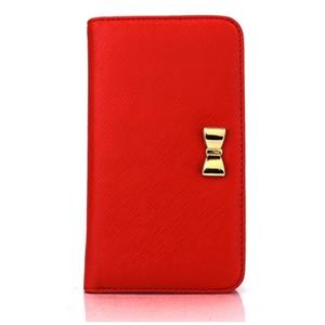 iPhone7 アイフォン 手帳型ケース Fantastick Wallet Case Ribbon Red for iPhone7