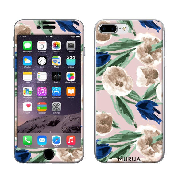 ギズモビーズ Gizmobies iPhone8Plus/7Plus兼用 スキンシール FALLFLOWER_PK