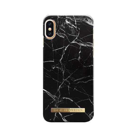 iPhoneX おしゃれ FASHION CASE 16-17A/W BLACK MARBLE
