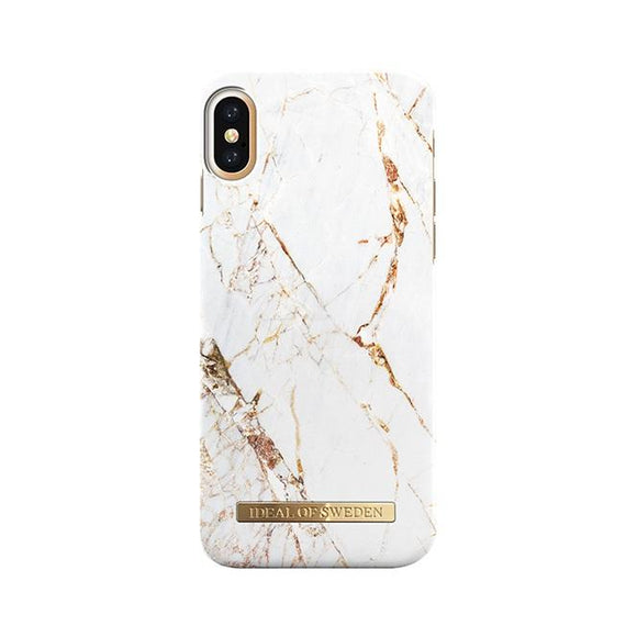 iPhoneX おしゃれ FASHION CASE 16-17A/W CARRARA GOLD