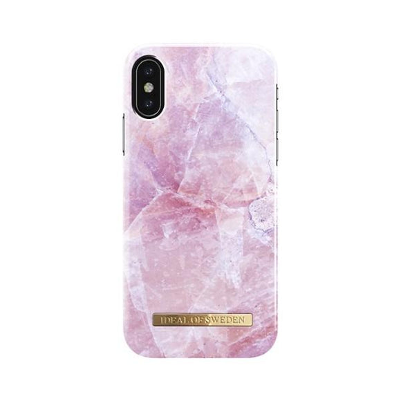 iPhoneX おしゃれ FASHION CASE 17S/S PILION PINK MARBLE