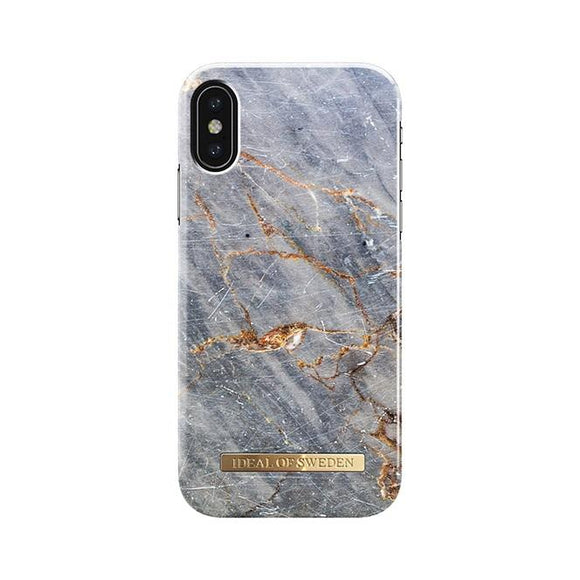iPhoneX おしゃれ FASHION CASE 17S/S ROYAL GREY MARBLE